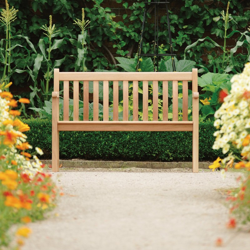 Gartenbank Mahagoni Broadfield 2-Sitzer