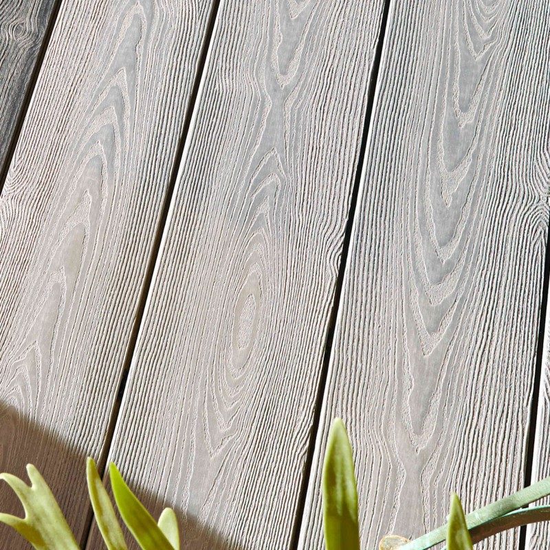 Terrassendiele WPC PLUS Anthrazit 23x146 mm