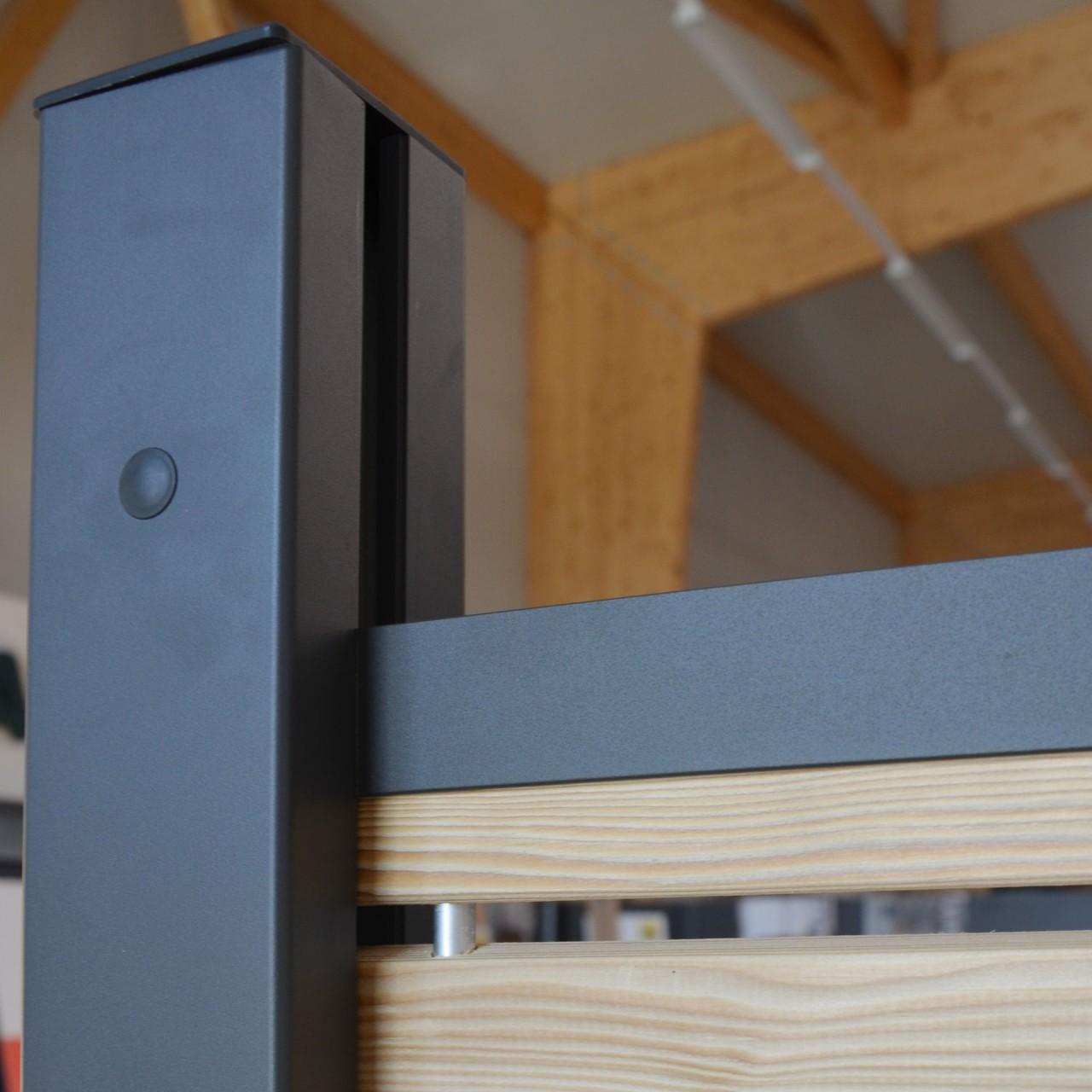 SYSTEM Klemmpfosten Anthrazit 192 cm