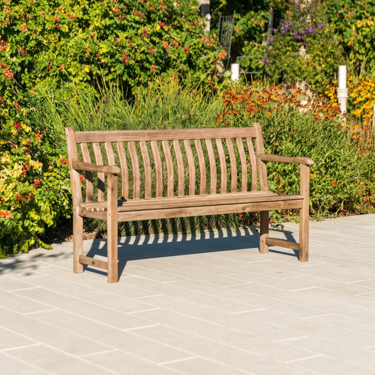 Gartenbank Sherwood Broadfield 3-Sitzer