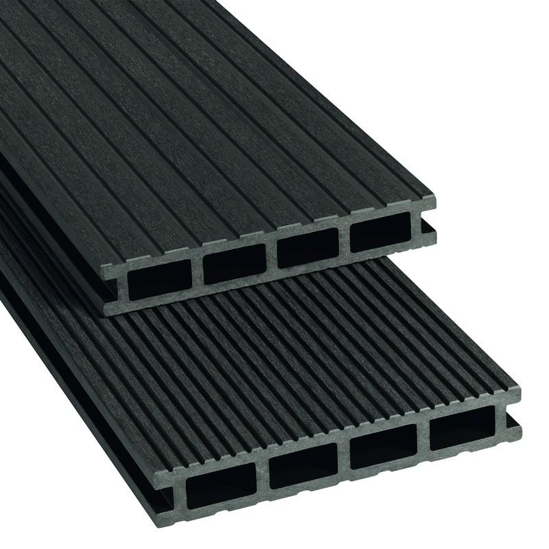 Terrassendiele VariDec BPC Resso 24x145 mm anthrazit