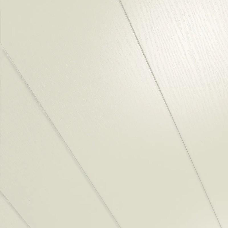 Dekorpaneele RapidoClick Esche weiß glänzend geplankt