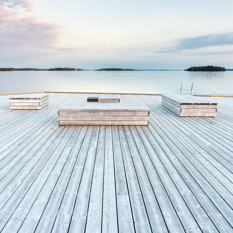 Terrassendiele Kiefer OrganoWood Select 28x120 mm