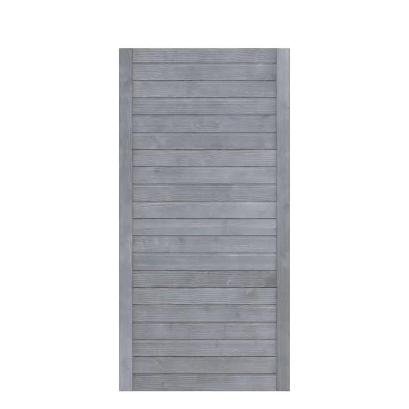 Sichtschutzzaun NEO DESIGN Grau 89 x 179 cm