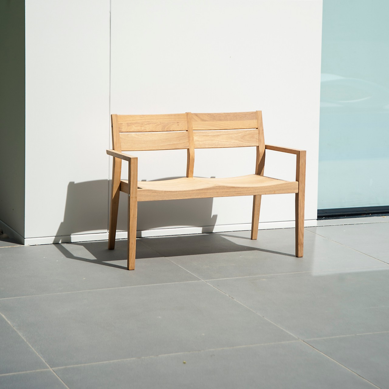 Gartenbank Roble Tivoli 2-Sitzer