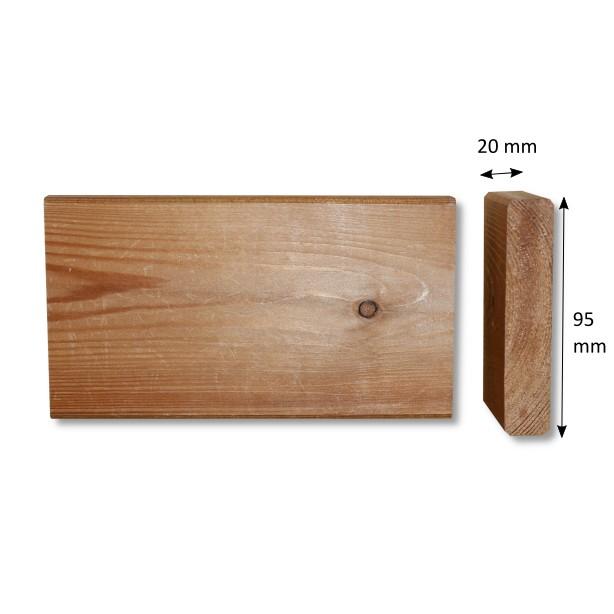 Glattkantbrett Sibirische Lärche 20x95 mm