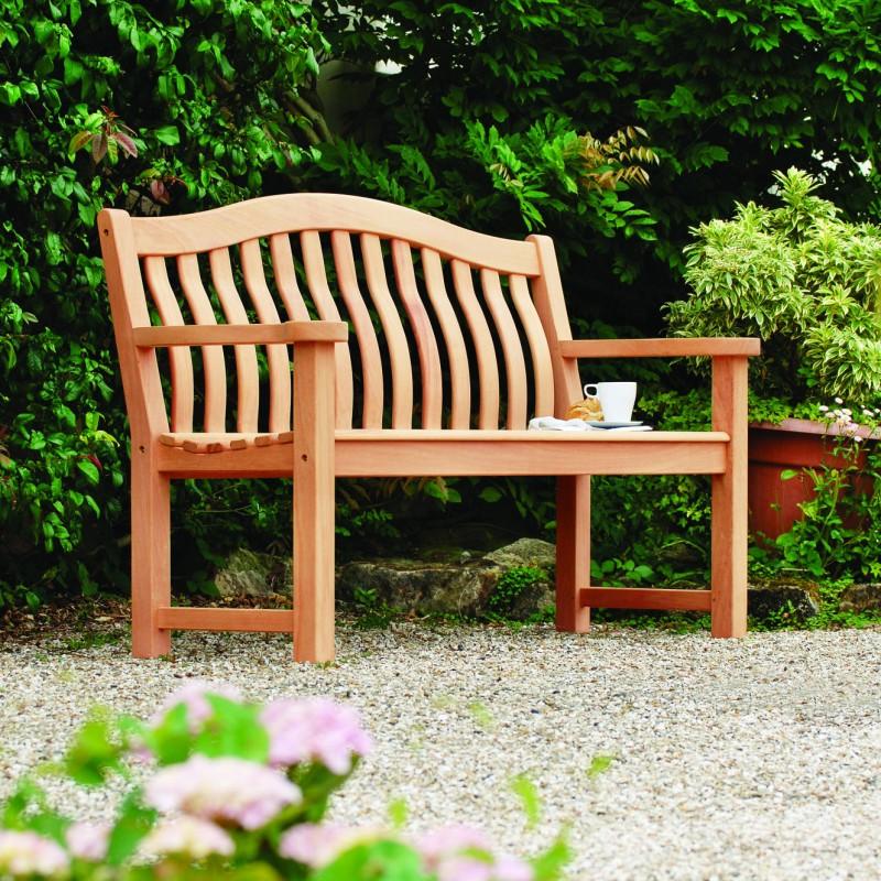 Gartenbank Mahagoni Turnberry 3-Sitzer