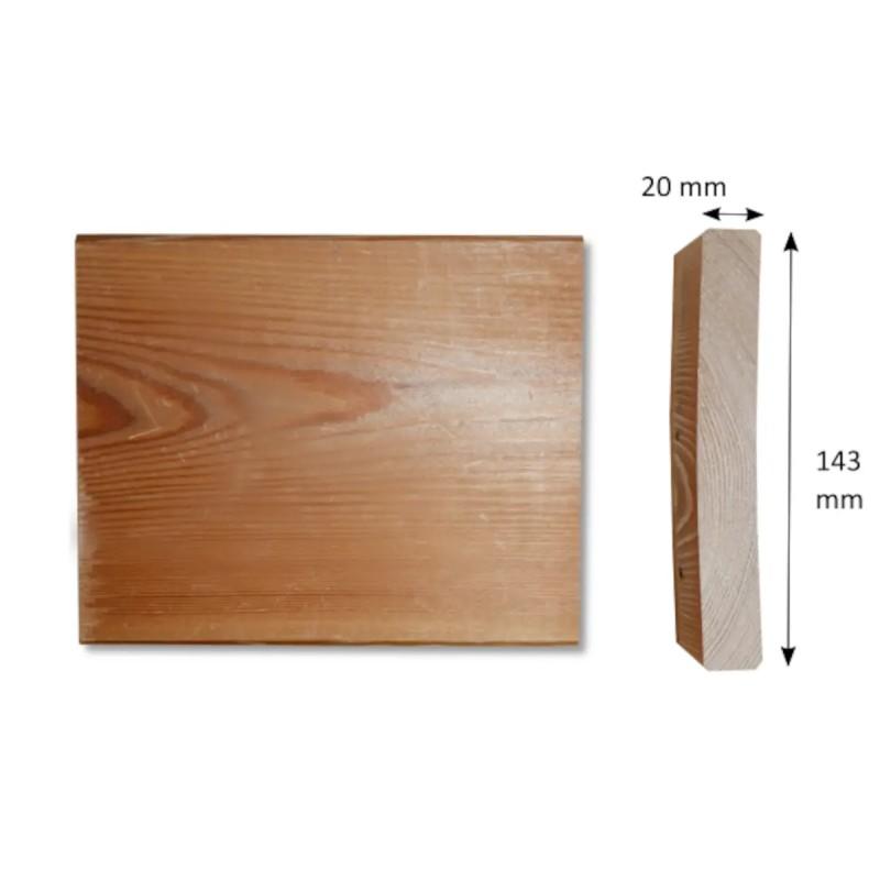 Glattkantbrett Sibirische Lärche 20x143 mm