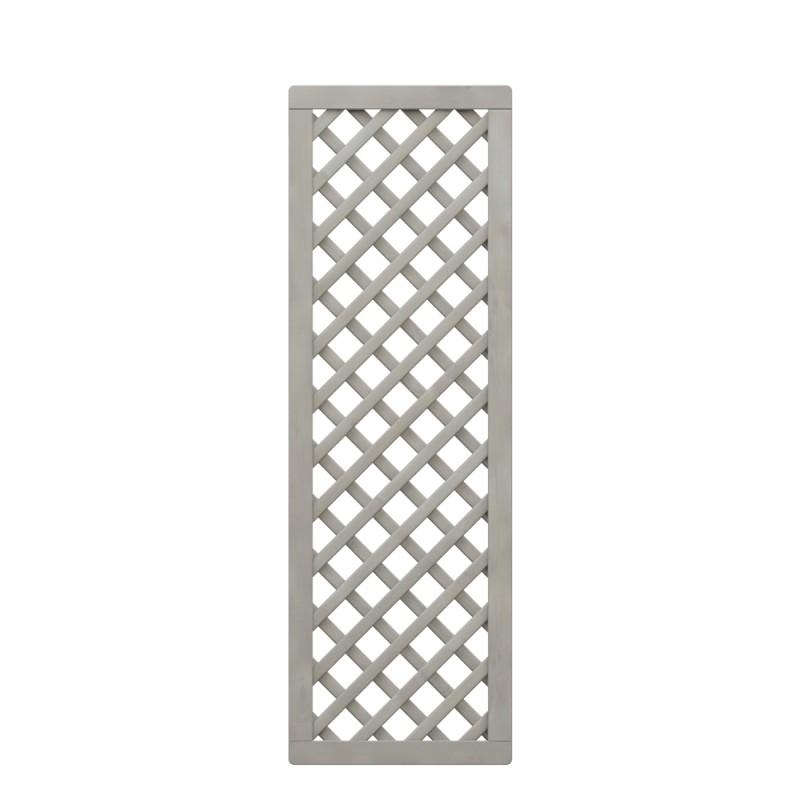 Sichtschutzzaun NEO DESIGN Rankgitter diagonal Grau 59 x 179 cm