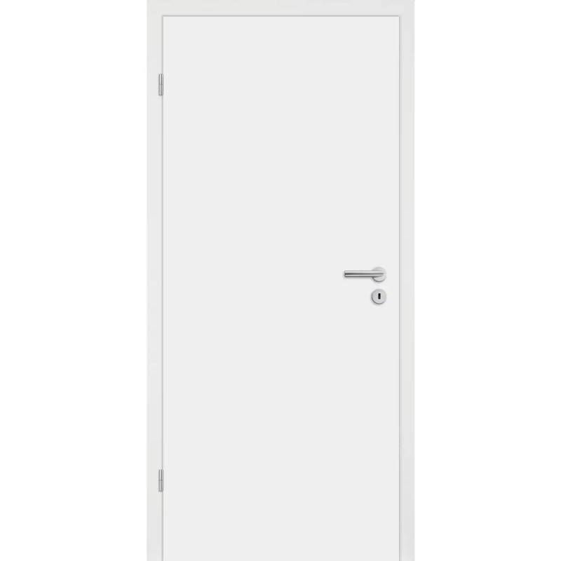 CPL-Tür Diamant weiß glatt