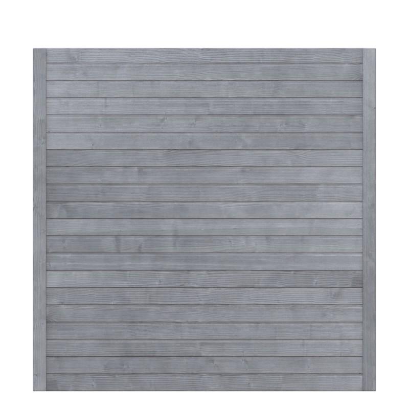 Sichtschutzzaun NEO DESIGN Grau 179 x 179 cm
